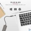 Kép 6/7 - Trust Halyx 4 portos USB-C  USB3.2 alumínium HUB
