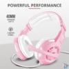 Kép 1/5 - Trust GXT 310P Radius pink gamer fejhallgató headset