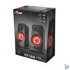 Kép 5/5 - Trust GXT 608 Tytan 2.0 fekete gamer hangszóró