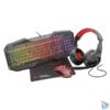 Kép 1/6 - Trust GXT 1180RW Gaming Bundle 4 in 1 (billentyűzet, egér, fejhallgató, egérpad)