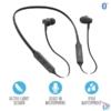 Kép 1/4 - Trust Ludix Lightweight Bluetooth wireless fekete sport nyakpántos fülhallgató headset