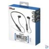 Kép 4/4 - Trust Ludix Lightweight Bluetooth wireless fekete sport nyakpántos fülhallgató headset