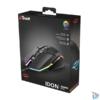 Kép 6/6 - Trust GXT 950 Idon Illuminated RGB fekete gamer egér