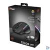 Kép 7/7 - Trust GXT 165 Celox RGB fekete gamer egér