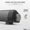 Kép 4/7 - Trust Lino Wireless Sound Bar 20W fekete hangszóró