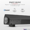 Kép 5/7 - Trust Lino Wireless Sound Bar 20W fekete hangszóró