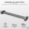 Kép 2/6 - Trust Dalyx USB-C 10 in 1 multiport dokkoló