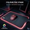 Kép 1/5 - Trust GXT 765 Glide-Flex RGB világító fekete gamer egérpad