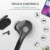 Kép 3/6 - Trust Nika Touch Bluetooth true wireless fekete fülhallgató headset