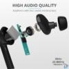 Kép 4/6 - Trust Nika Touch Bluetooth true wireless fekete fülhallgató headset