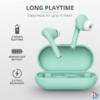 Kép 2/6 - Trust Nika Touch Bluetooth true wireless türkiz fülhallgató headset
