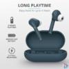 Kép 2/6 - Trust Nika Touch Bluetooth true wireless kék fülhallgató headset