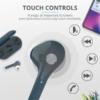 Kép 3/6 - Trust Nika Touch Bluetooth true wireless kék fülhallgató headset