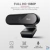 Kép 1/5 - Trust Tyro FullHD mikrofonos fekete webkamera
