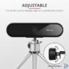 Kép 3/5 - Trust Tyro FullHD mikrofonos fekete webkamera