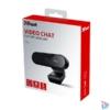 Kép 5/5 - Trust Tyro FullHD mikrofonos fekete webkamera
