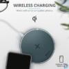 Kép 2/6 - Trust Qylo Fast QI 7.5/10W wireless kék töltő