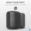Kép 4/6 - Trust Caro Compact vezeték nélküli Bluetooth fekete hangszóró