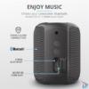 Kép 5/6 - Trust Caro Compact vezeték nélküli Bluetooth fekete hangszóró
