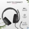 Kép 4/6 - Trust GXT 4371 Ward gamer fejhallgató headset