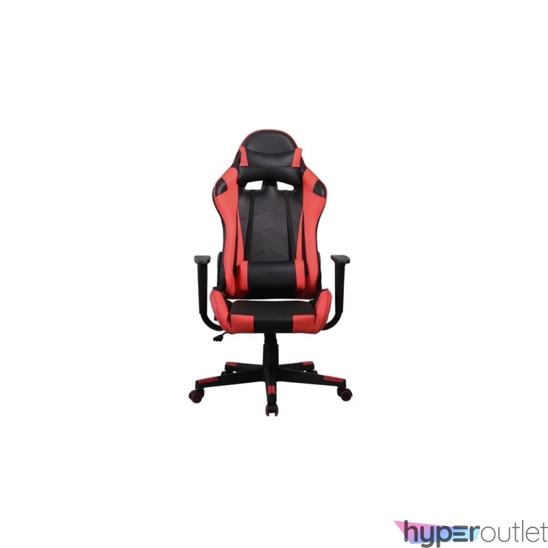 Gamer szék, fekete/piros, max. 120 kg (GCH201BR)