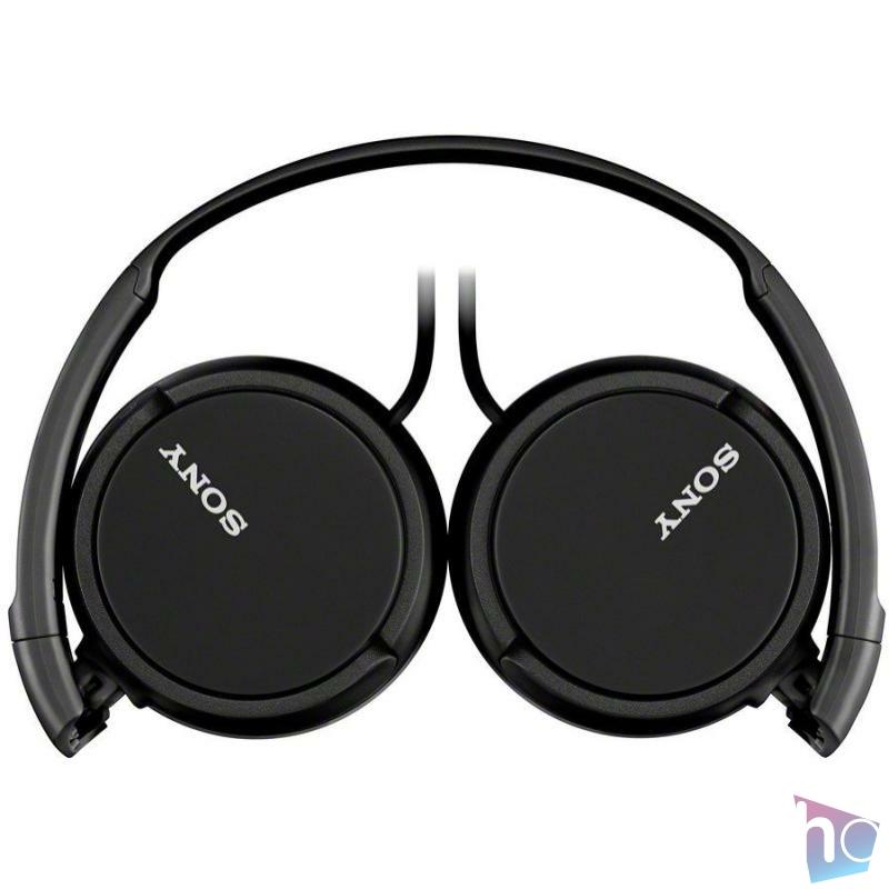 MDR-ZX110 fekete vezetékes fejhallgató