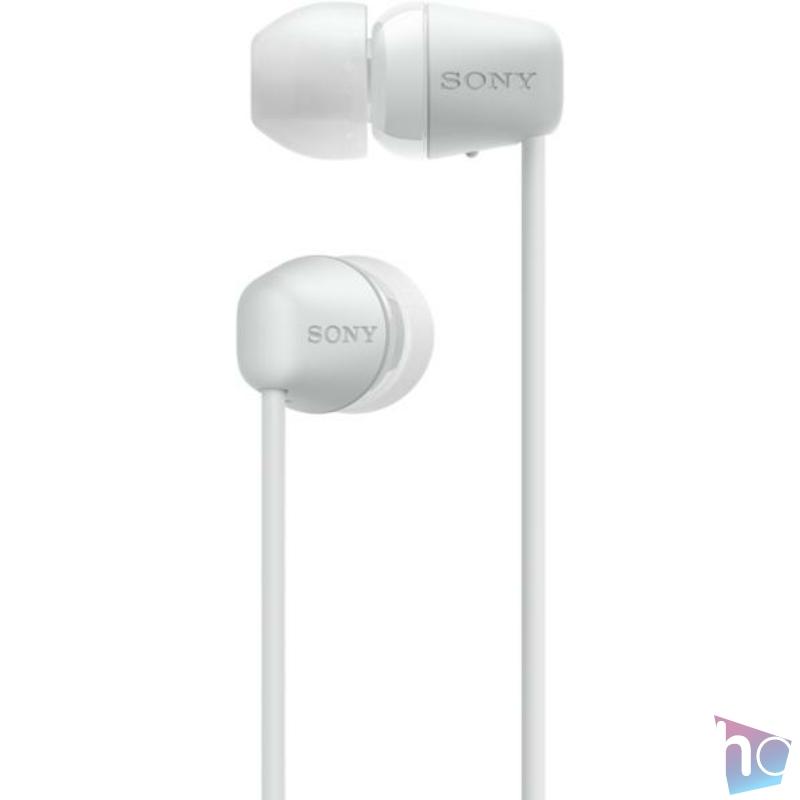 WI-C200W fehér Fülhallgató, Bluetooth,  headset