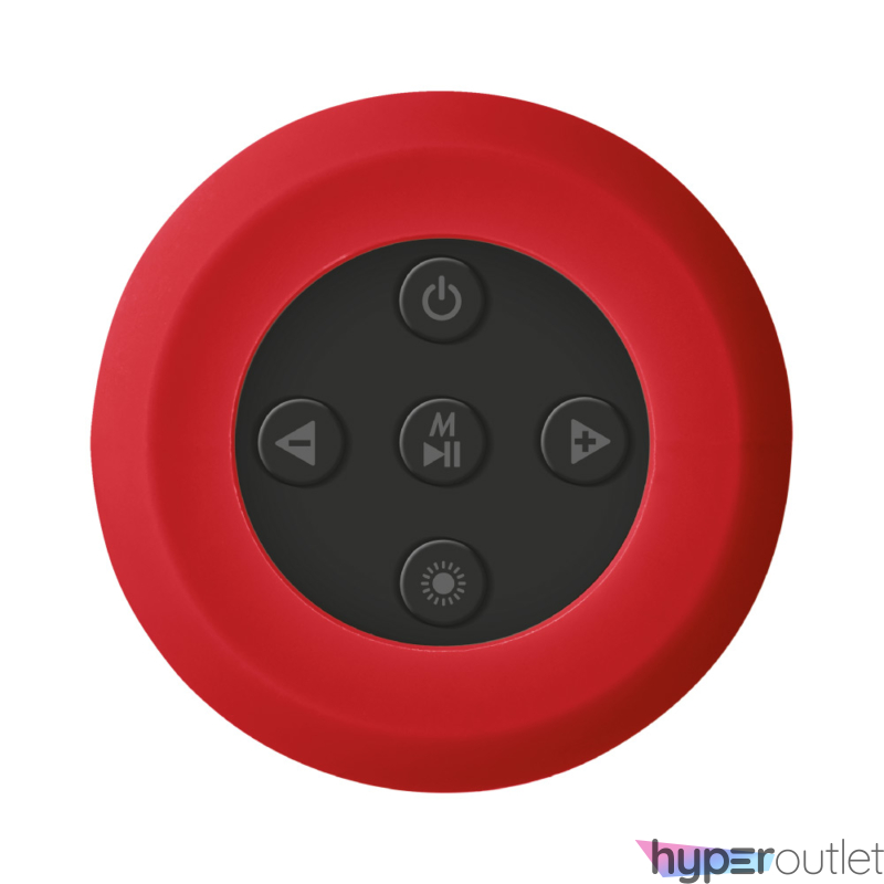 Urban Dixxo Go vezeték nélküli Bluetooth piros hangszóró