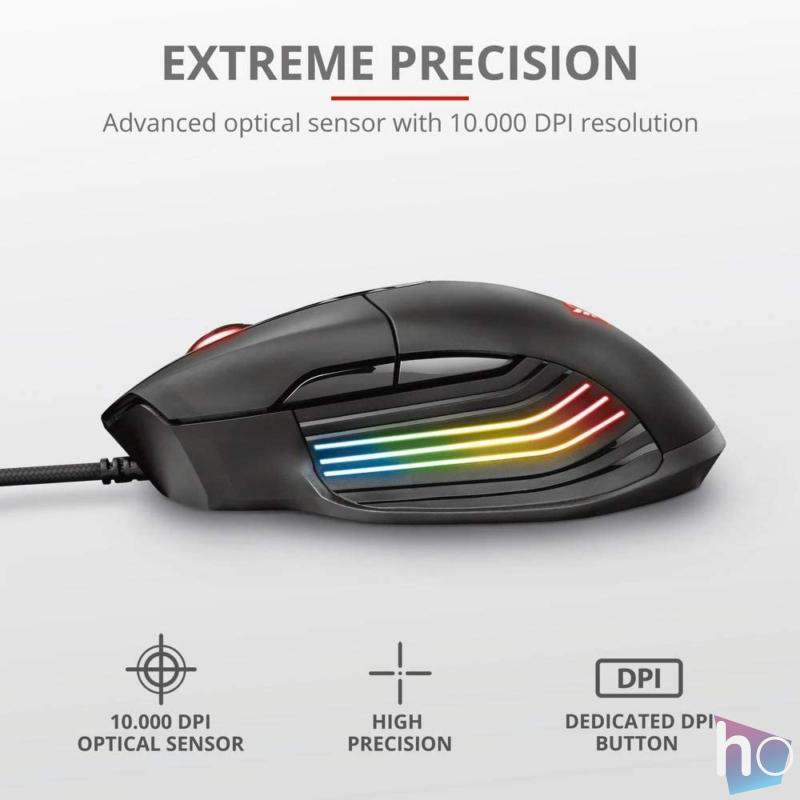 GXT 940 Xidon RGB fekete gamer egér