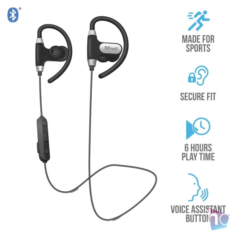 Usan (23345) Fülhallgató, Bluetooth,  headset