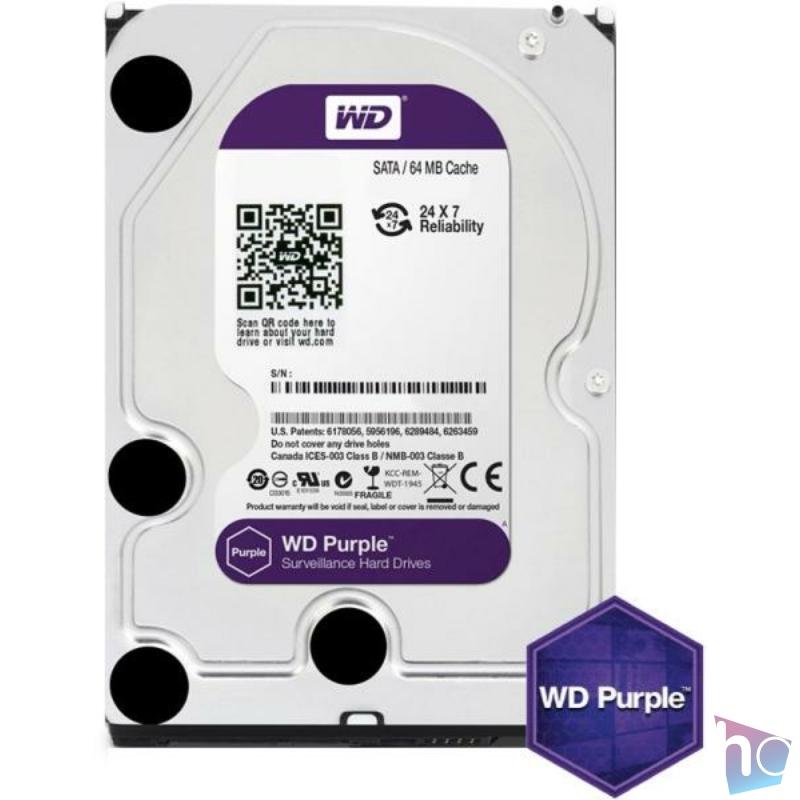 WD10PURZ  Purple 3.5 1TB 5400rpm 64MB SATA3 WD10PURZ winchester