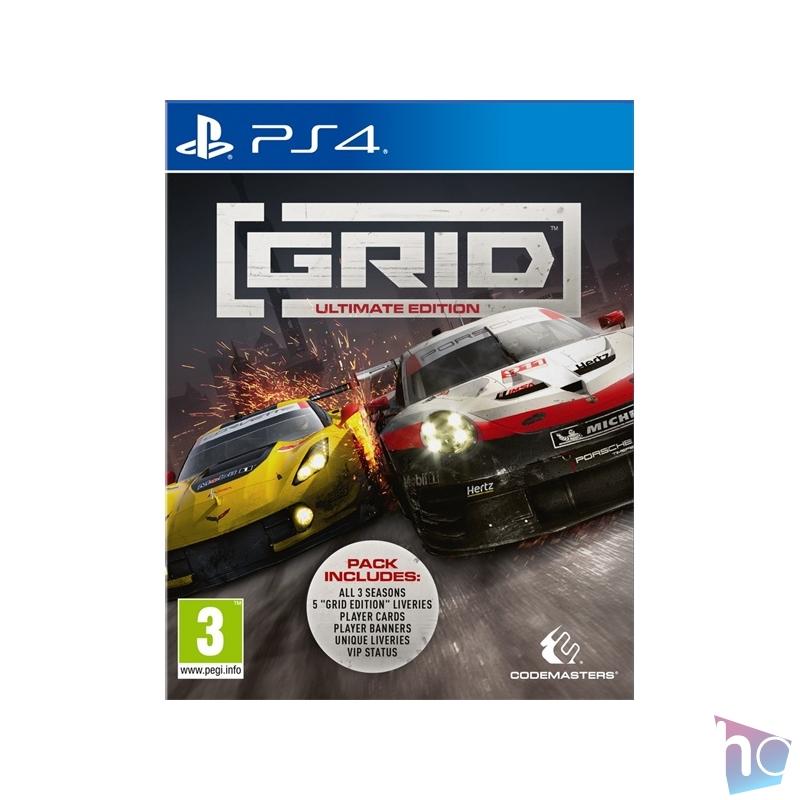 Grid PS4 játékszoftver