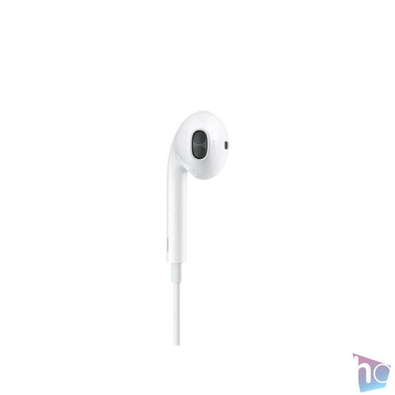 Apple Earpods Lightning csatlakozós távvezérlős fülhallgató headset