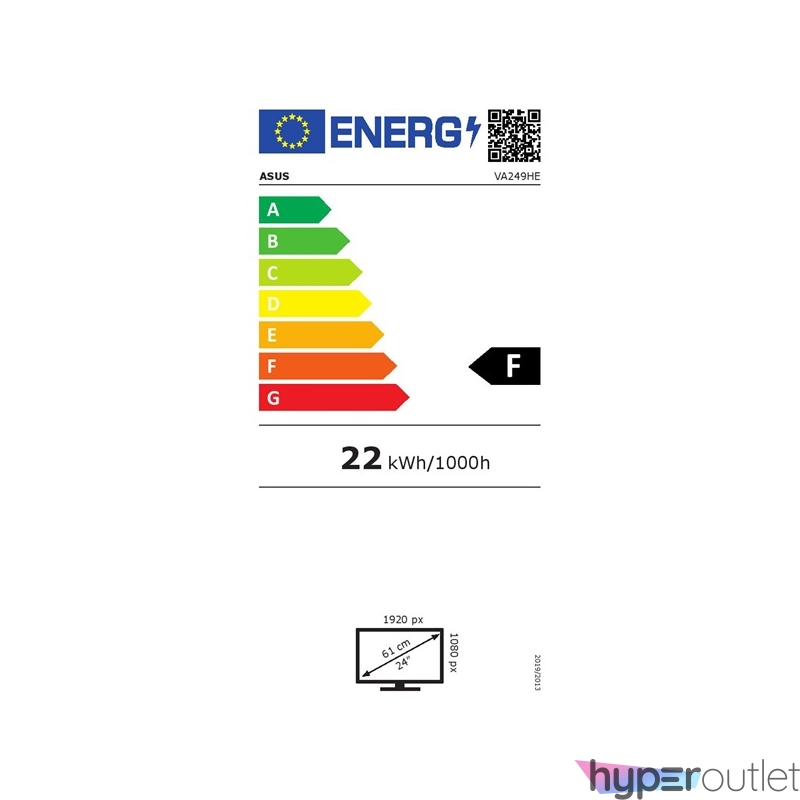 "Asus 23,8"" VA249HE VA LED HDMI fekete monitor"