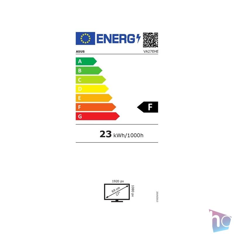 """Asus 27"""" VA27EHE IPS LED HDMI 75Hz Eye-Care fekete káva nélküli monitor"""