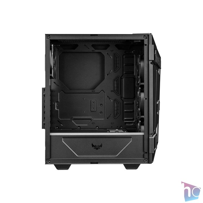 ASUS TUF GAMING GT301 Fekete (Táp nélküli) ablakos ATX ház