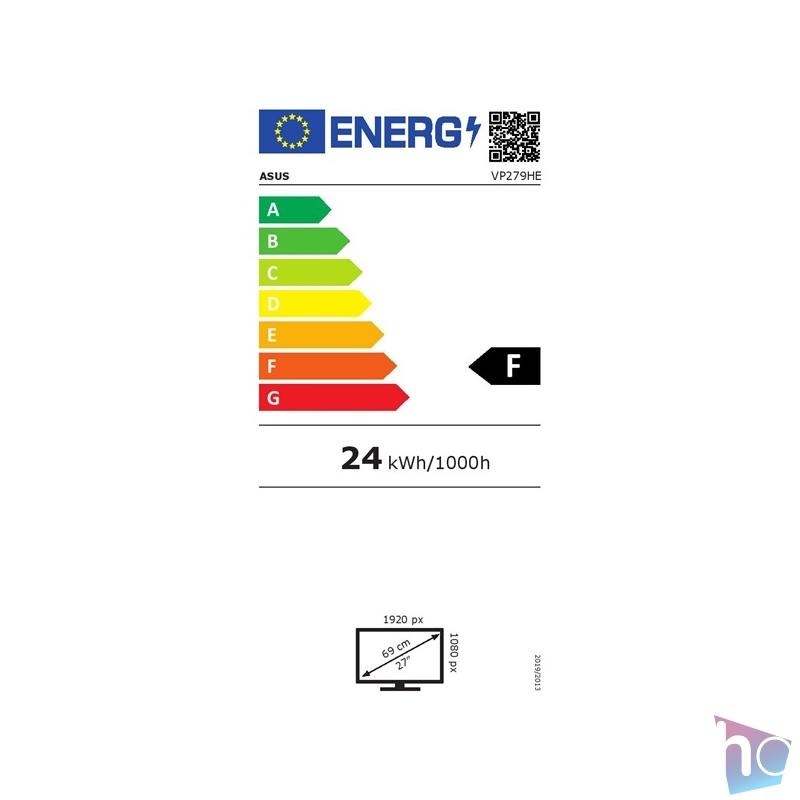 "Asus 27"" VP279HE FHD LED IPS 75Hz vékony kávás monitor"