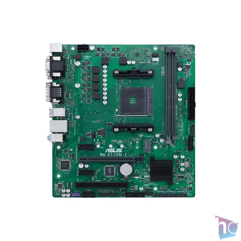 ASUS PRO A520M-C/CSM AMD A520 SocketAM4 mATX alaplap