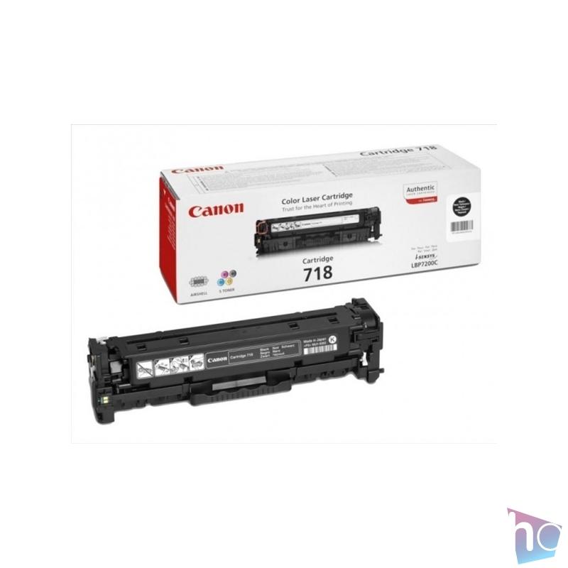 Canon CRG-718Bk fekete toner