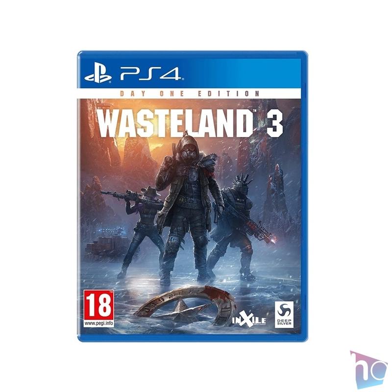 Wasteland 3 Day One Edition PS4 játékszoftver