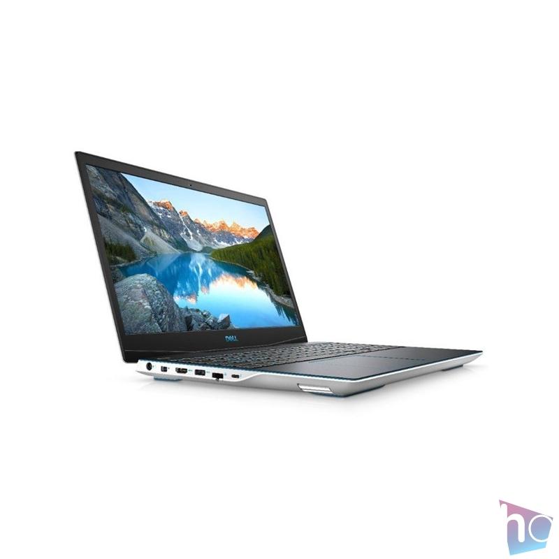 """Dell G3 3500 15,6""""FHD/Intel Core i5-10300H/8GB/1TB SSD/GTX 1650Ti 4GB/Linux/fehér laptop"""