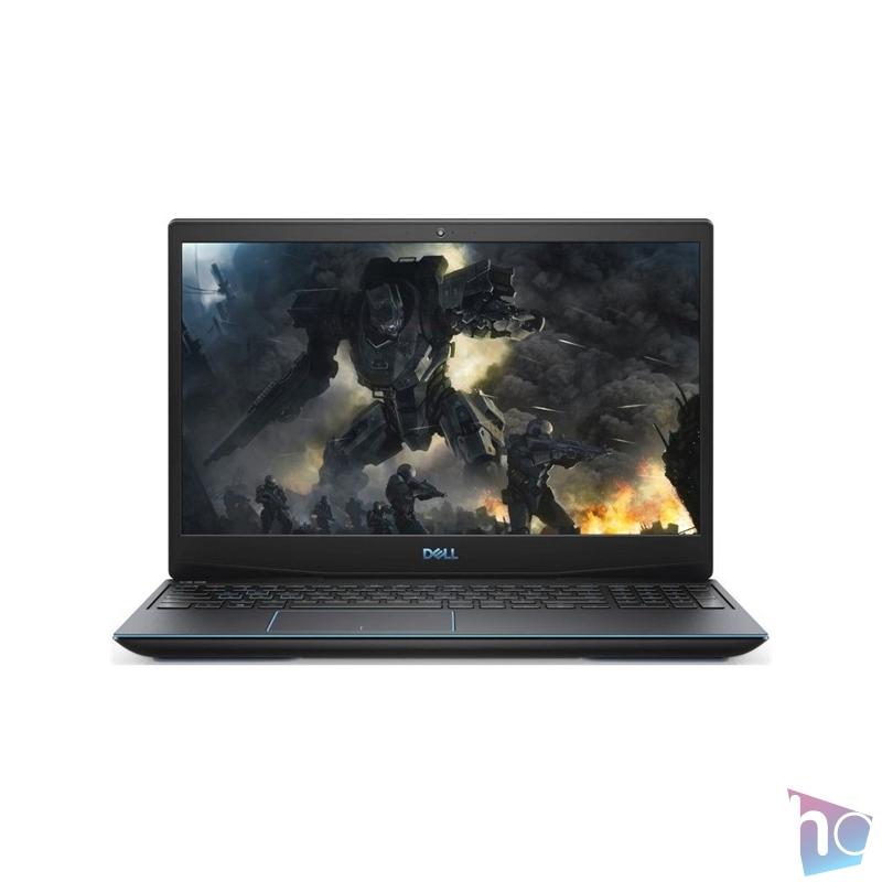 """Dell G3 3500 15,6""""FHD/Intel Core i7-10750H/16GB/512GB/GTX 1650Ti 4GB/Linux/fekete laptop"""