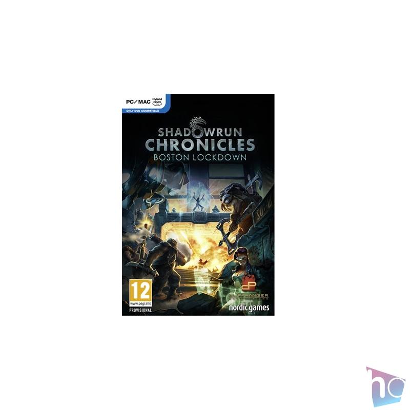 Shadowrun Chronicles Boston Lockdown PC játékszoftver