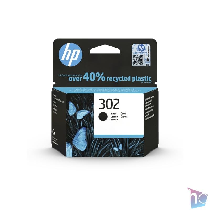 HP F6U66AE (302) fekete tintapatron