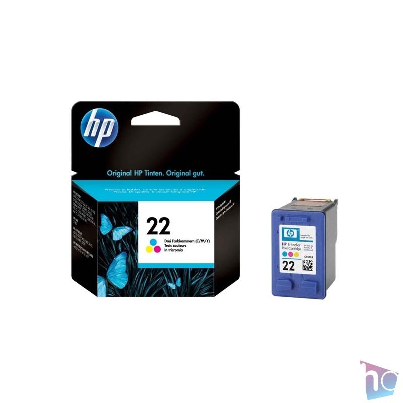 HP C9352AE (22) színes tri-color tintapatron