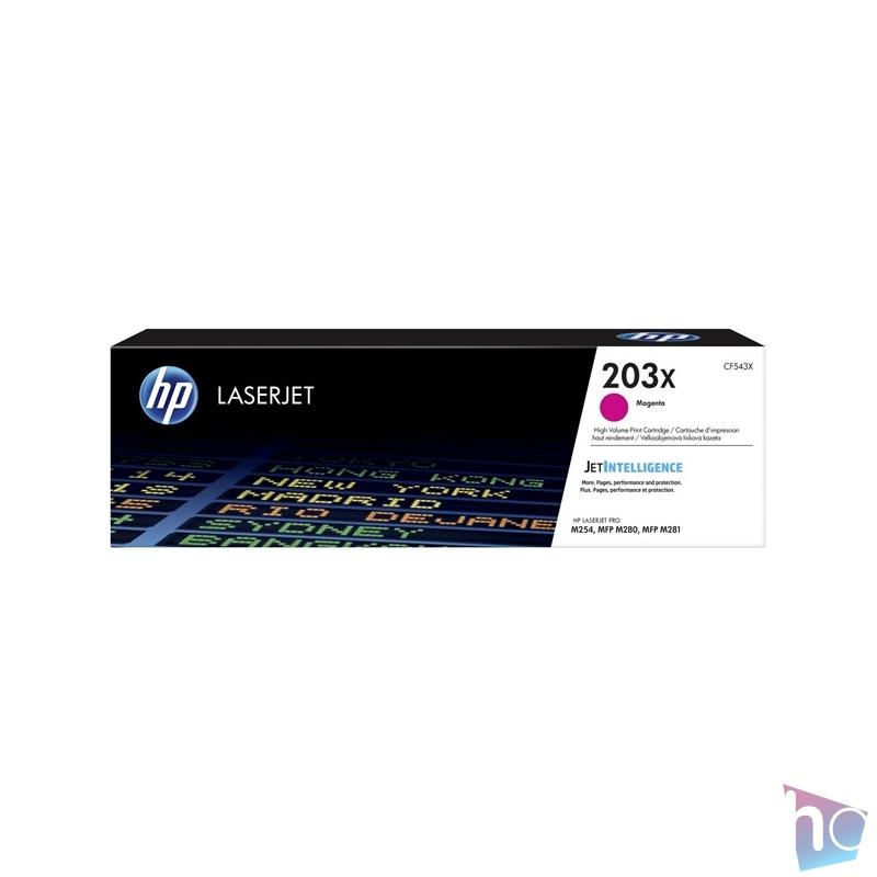 HP CF543X (203X) magenta  nagykapacítású toner