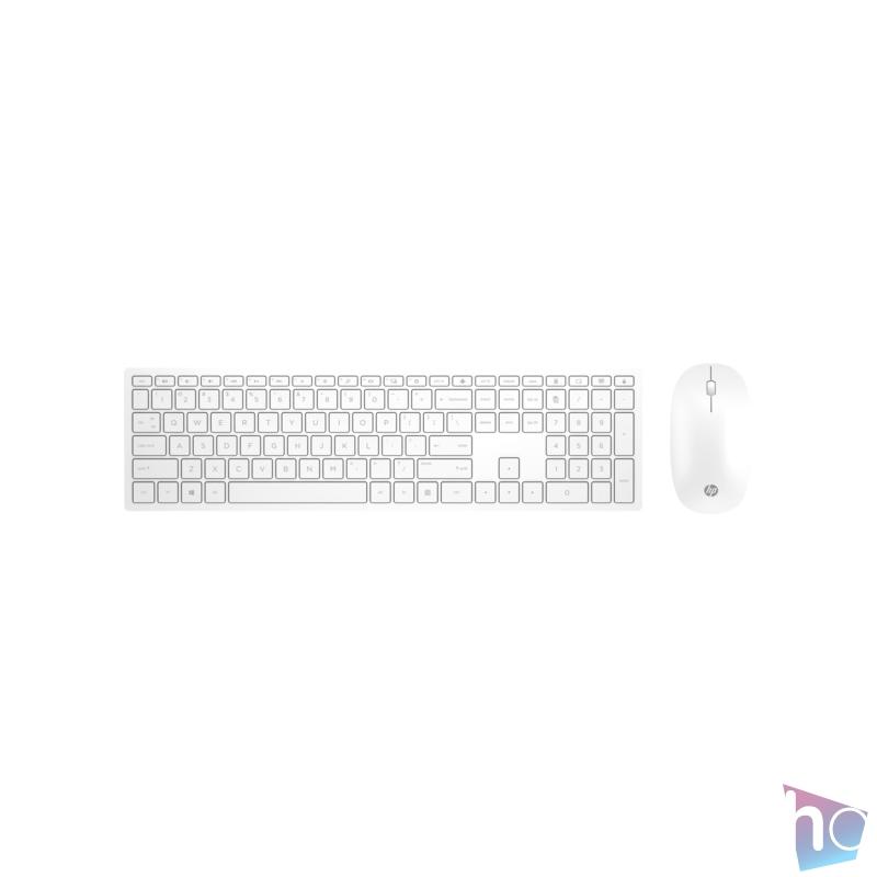 HP Pavilion 800 fehér vezeték nélküli billentyűzet + egér