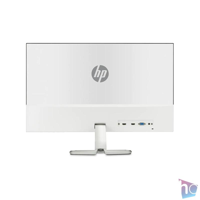 "HP 27"" 4TB31AA 27fw full HD IPS LED VGA 2xHDMI fehér monitor beépített hangmodullal"