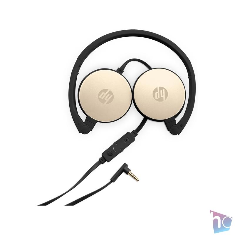 HP Stereo Headset H2800 arany - fekete