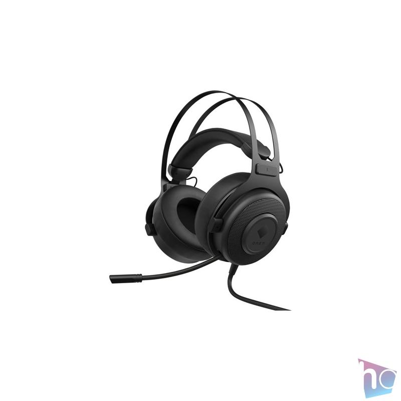 HP OMEN Blast vezetékes fekete gamer headset